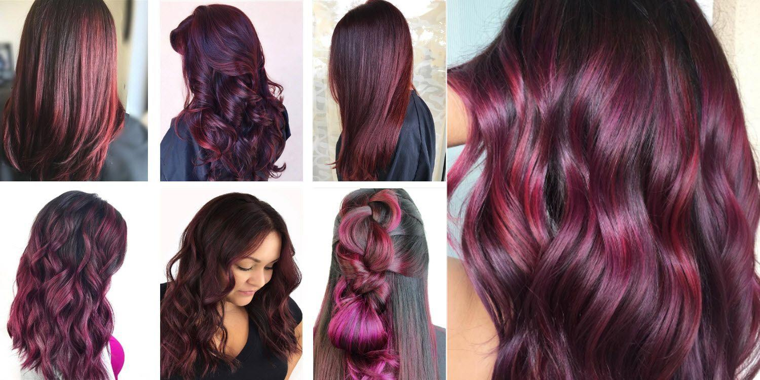 The Best Is Burgundy Hair Color Right For You Matrix Com Pictures