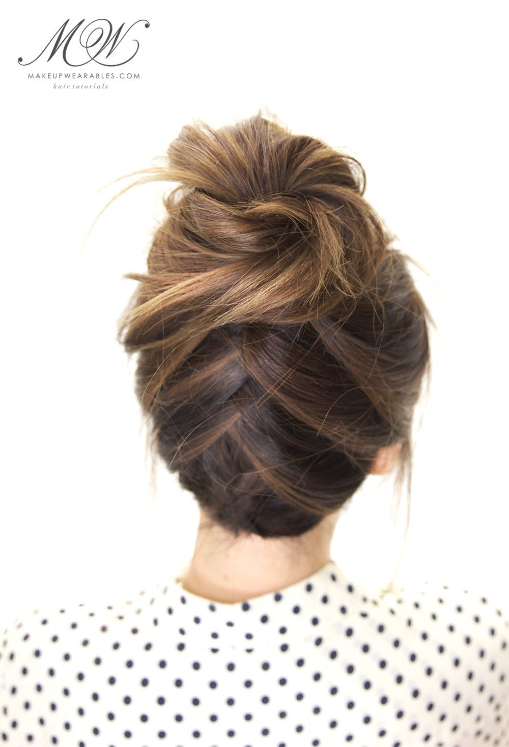 The Best Tuxedo Braid Bun Hairstyle Cute Everyday Hairstyles For Pictures