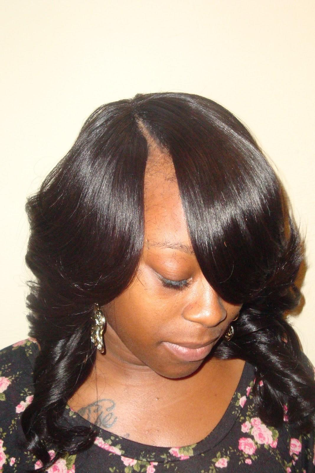 The Best Invisible Part Sew In Weave Hairstyles Beautiful Hairstyles Pictures