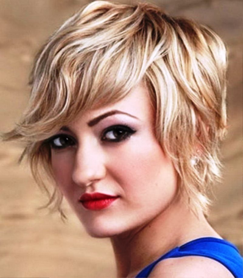 The Best Pictures Of Short Wavy Hairstyles For Square Faces Pictures