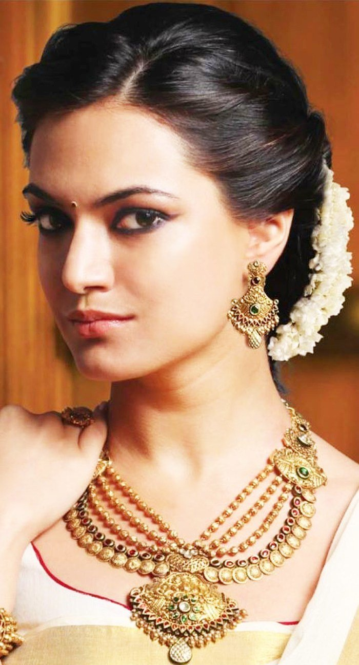 The Best Indian Bridal Hairstyles For Short Medium Hair Pictures