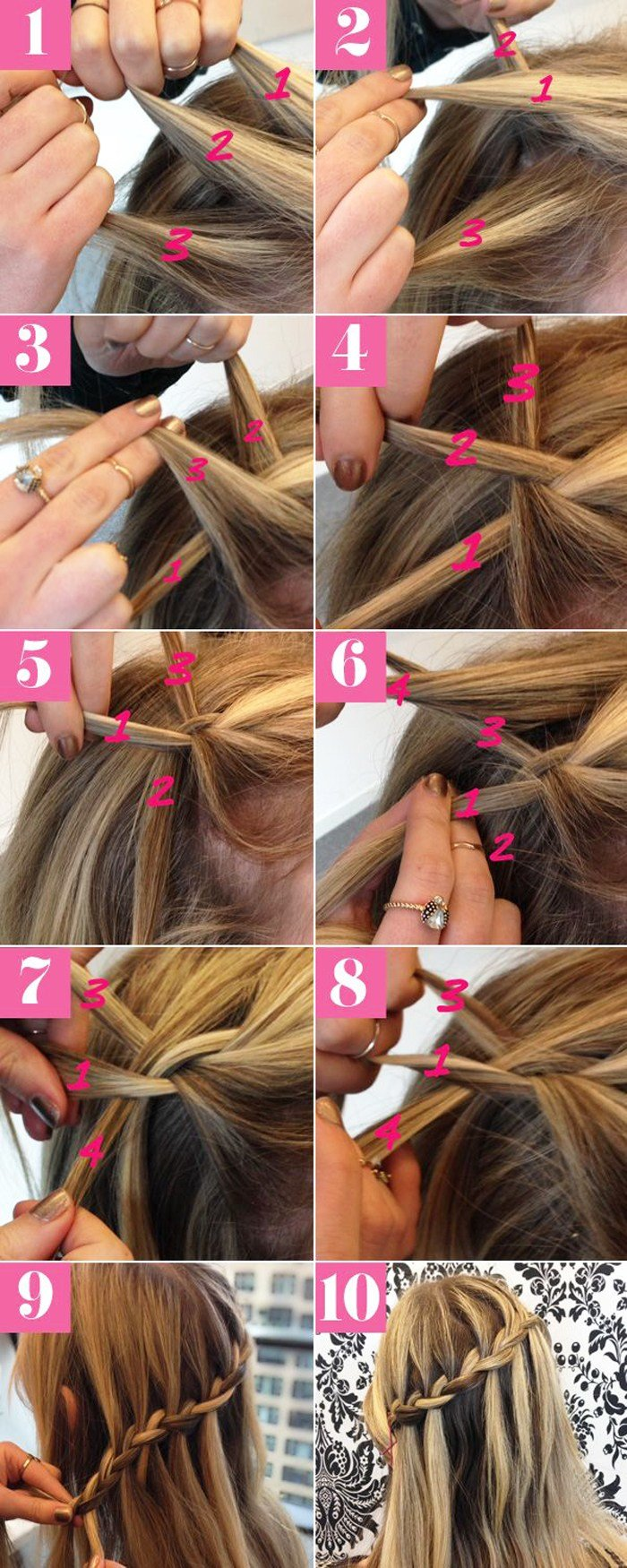 The Best Easy Step By Step Hairstyles For Medium Hair Fashionspick Com Pictures