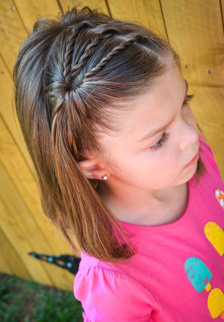 The Best 20 Easy And Cute Hairstyles For Little Girls Pictures