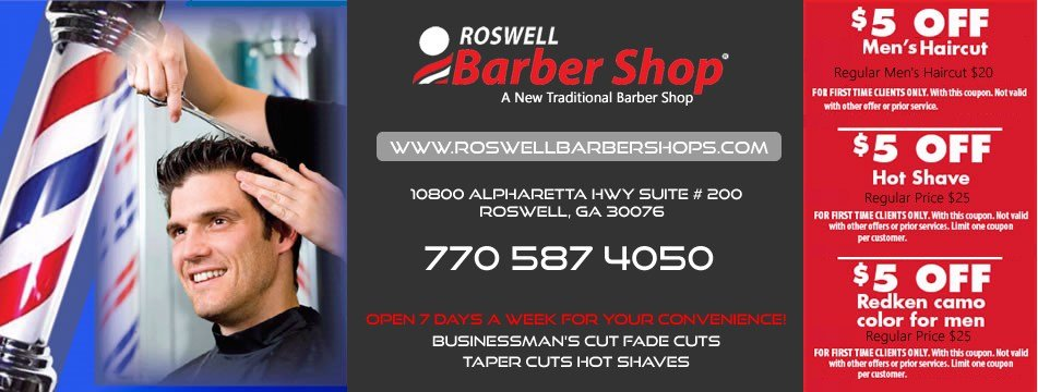 The Best Roswell Barber Shop Provides Quality Men S Boys Kids Haircut In Roswell Ga Hair Saloon Pictures