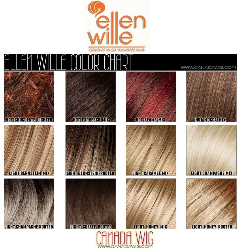The Best Ellen Wille Wig Color Chart Pictures
