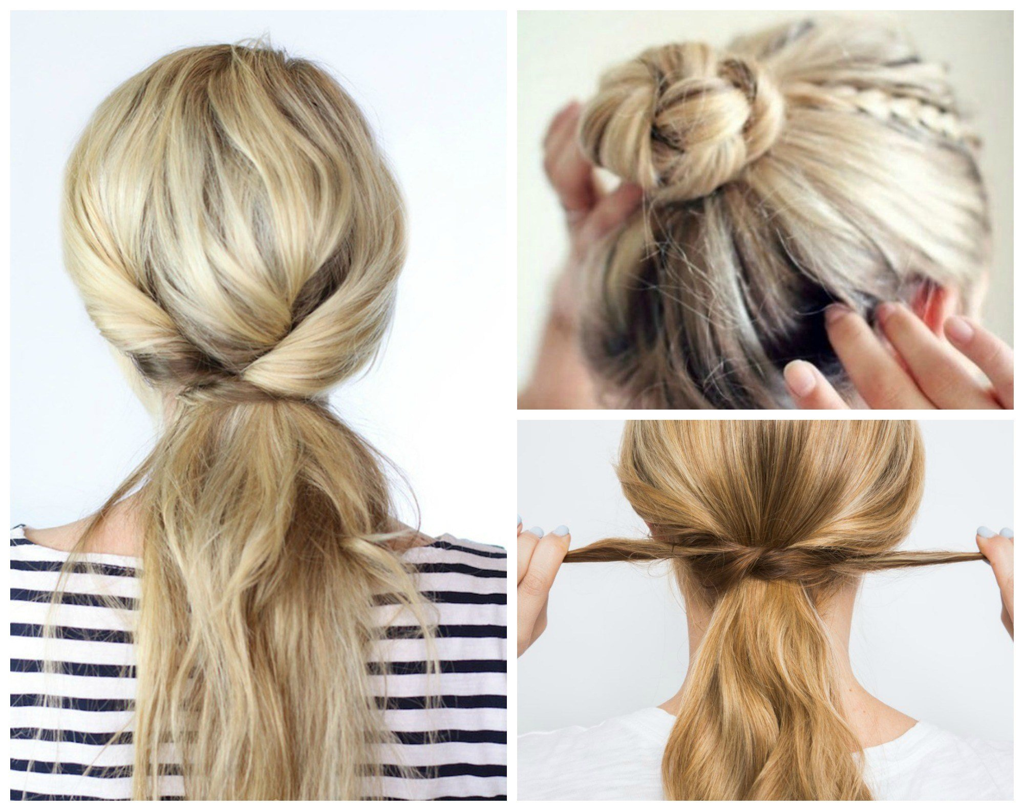The Best 8 Beyond Easy 5 Minute Hairstyles For Those Crazy Busy Pictures