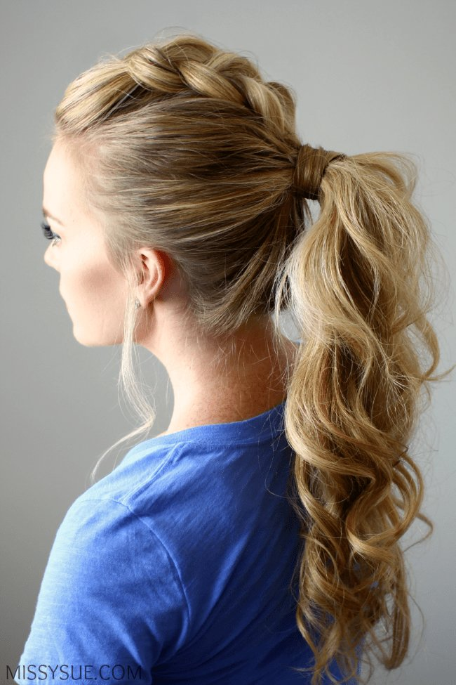 The Best Pony Up Creative Ponytail Hairstyles Page 5 Of 5 Pictures