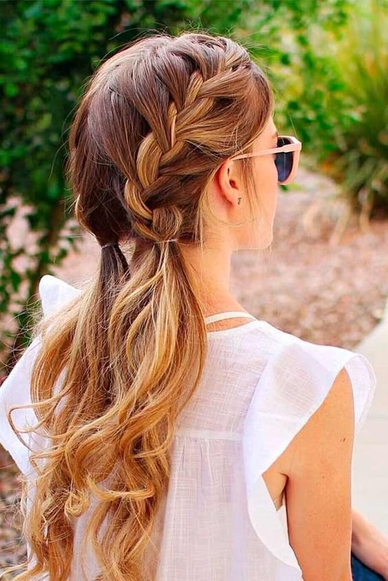 The Best Ladies Long Hairstyles Trends Tutorial Step By Step Looks 2019 2020 Galstyles Com Pictures