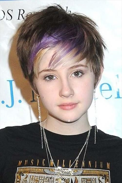 The Best 45 Funky Hairstyles For Teenage Girls To Try This Season Pictures