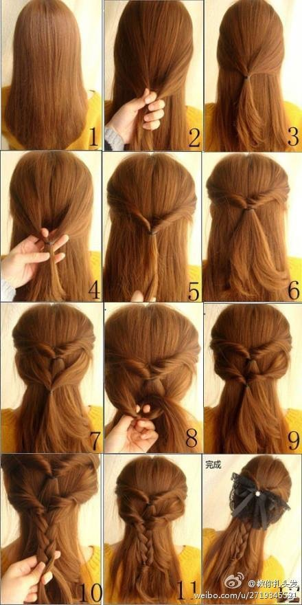 The Best 21 Simple And Cute Hairstyle Tutorials You Should Definitely Try It Style Motivation Pictures