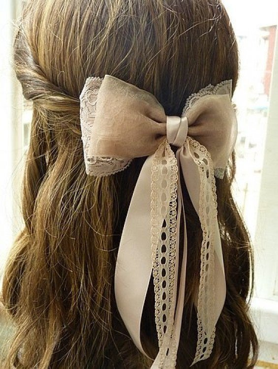 The Best 32 Adorable Hairstyles With Bows Style Motivation Pictures