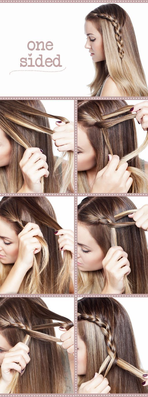 The Best 18 Easy Step By Step Tutorials For Perfect Hairstyles Pictures