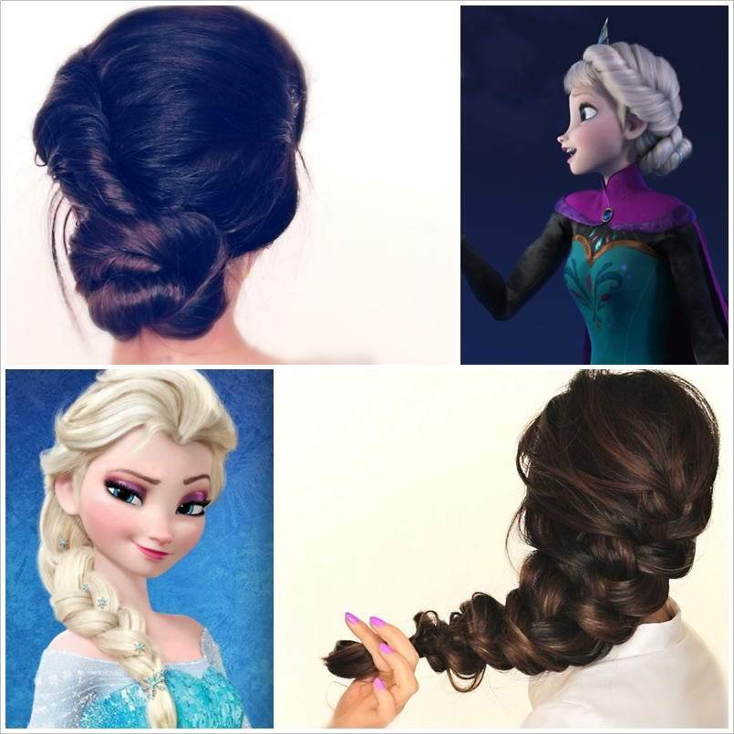 The Best Spectacular Disney Frozen Movie Inspired Hairstyle Tutorials Pictures