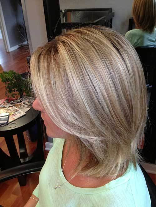 The Best 15 Short Blonde Highlighted Hair The Best Short Hairstyles For Women 2016 Pictures