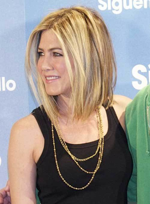 The Best 15 Spectacular Jennifer Aniston Long Bob Pictures Crazyforus Pictures
