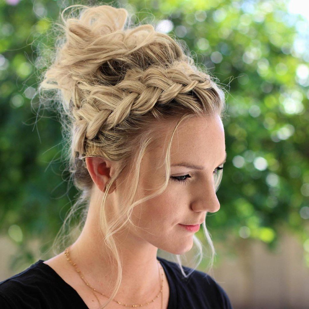 The Best Stunning Braided Hairstyle That Can Style You Elegantly Pictures