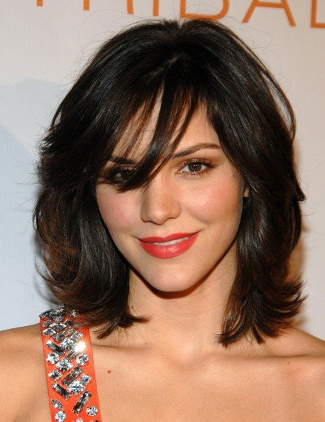The Best Katharine Mcphee Medium Layered Cut Katharine Mcphee Pictures