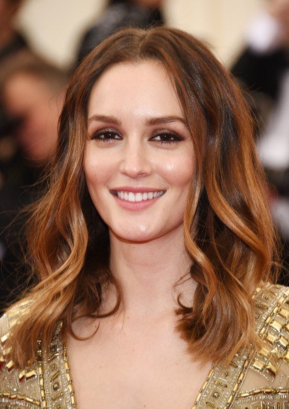 The Best Leighton Meester Long Wavy Cut Leighton Meester Looks Pictures