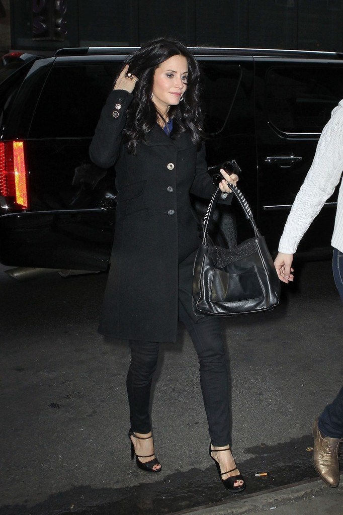 The Best Courteney C*X Leather Shoulder Bag Courteney C*X Looks Pictures