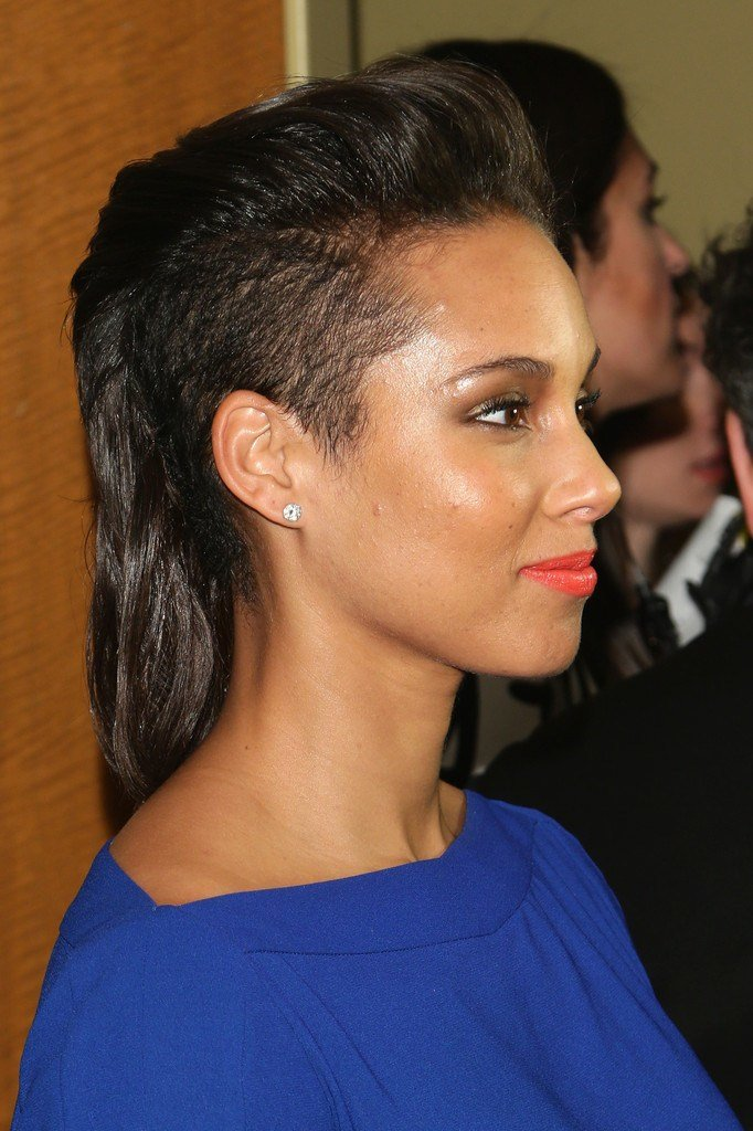 The Best More Pics Of Alicia Keys Mullet 14 Of 20 Alicia Keys Pictures