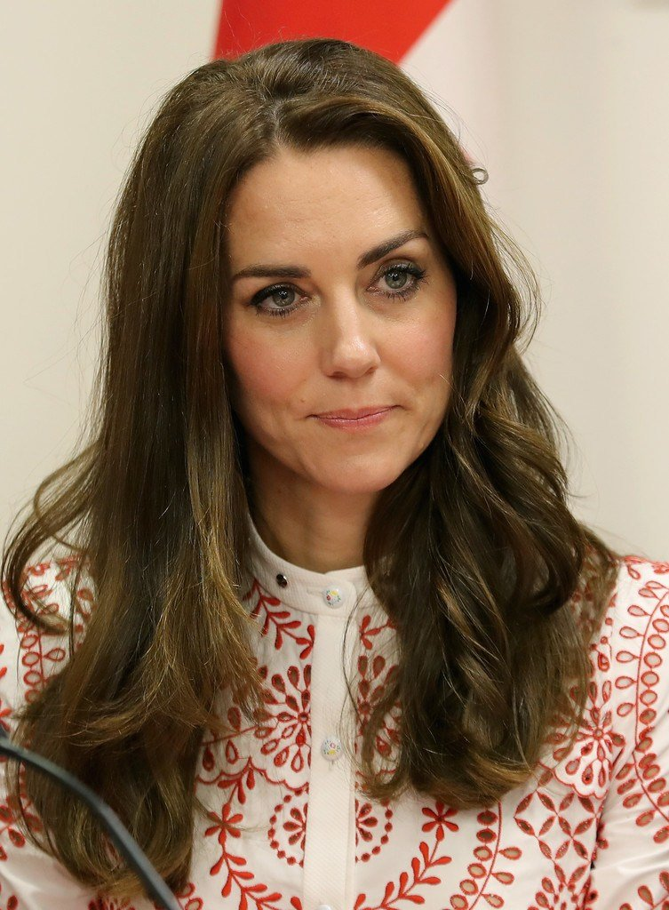 The Best Kate Middleton Long Wavy Cut Kate Middleton Hair Looks Pictures