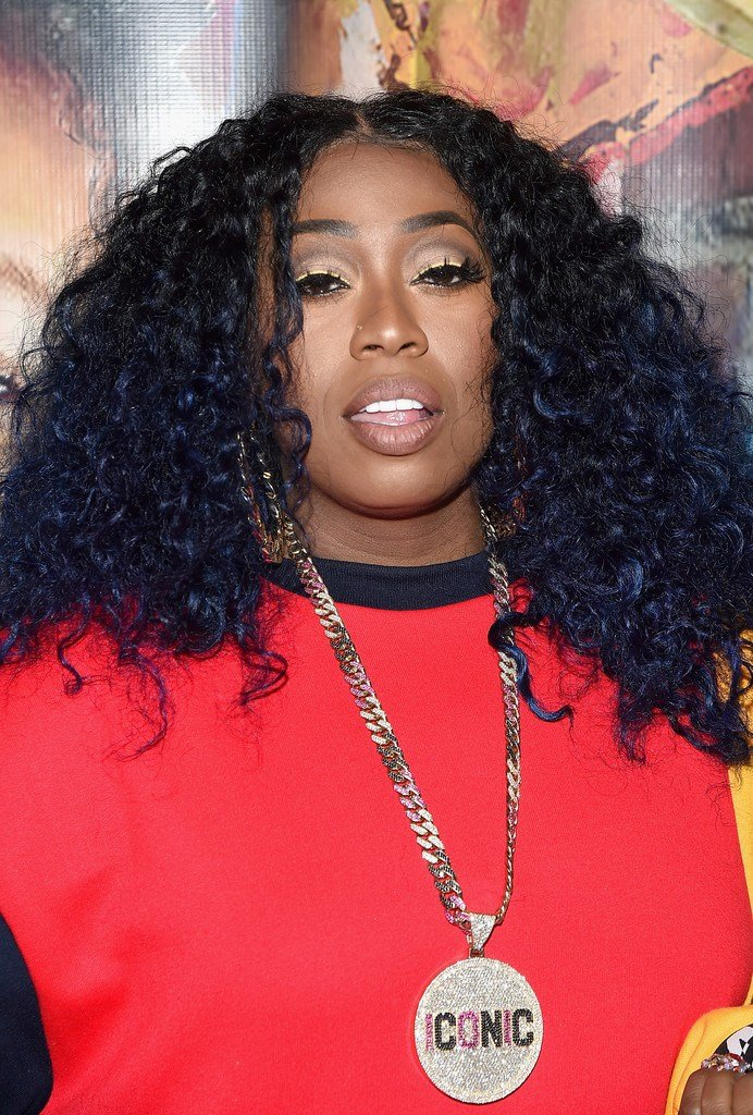 The Best Missy Elliott Medium Curls Shoulder Length Hairstyles Pictures