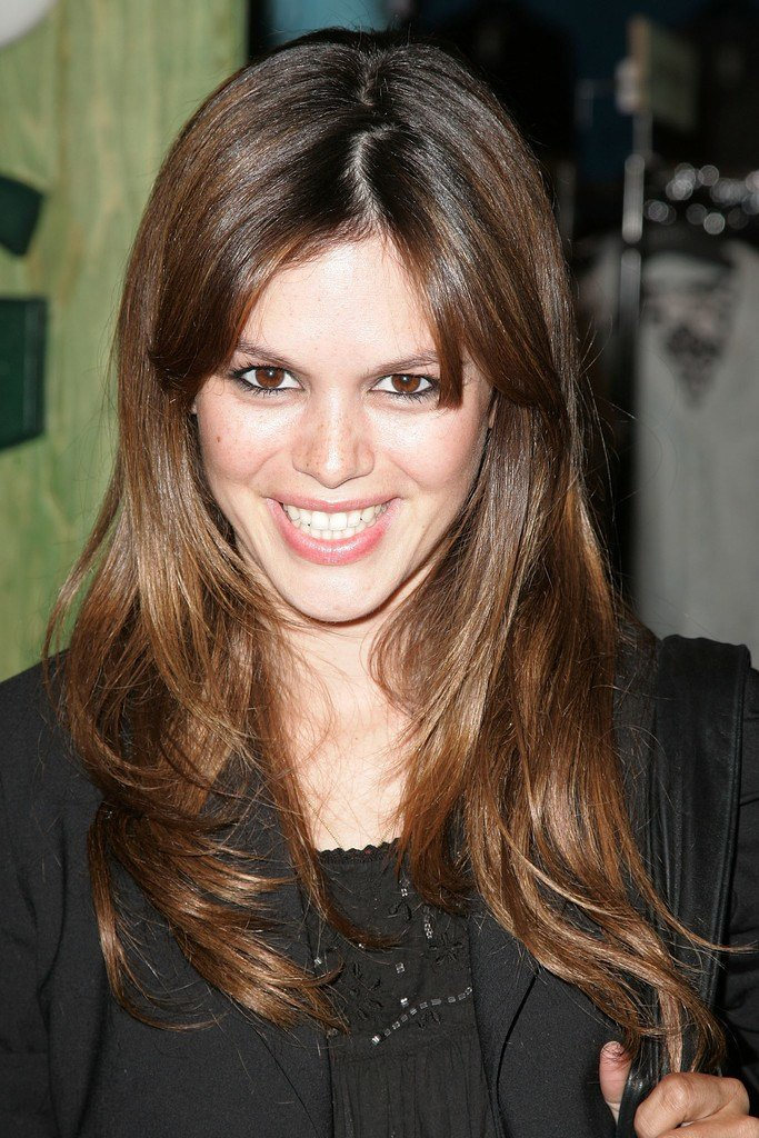 The Best Rachel Bilson Long Wavy Cut With Bangs Rachel Bilson Pictures