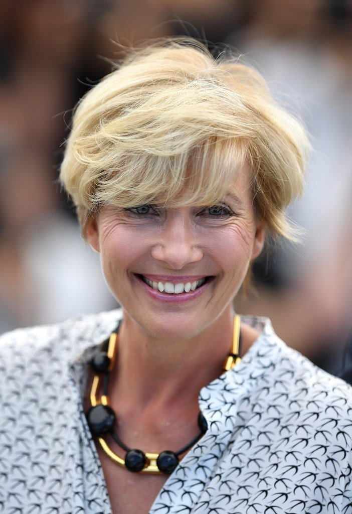 The Best Emma Thompson Emo Bangs Hair Lookbook Stylebistro Pictures