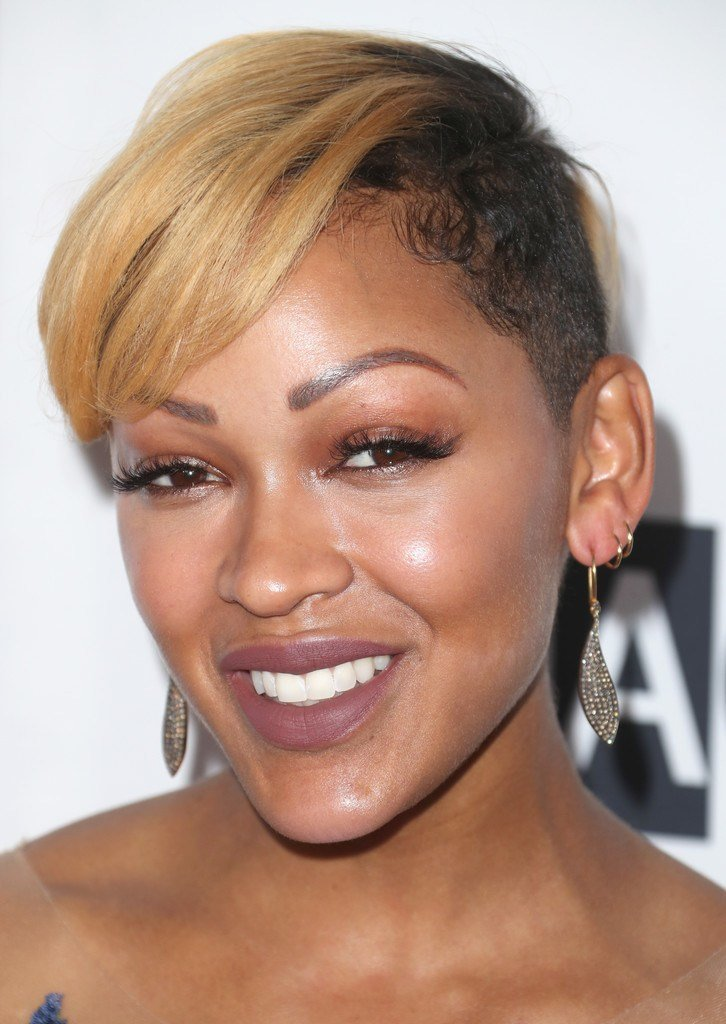 The Best Meagan Good Short Side Part Short Hairstyles Lookbook Pictures
