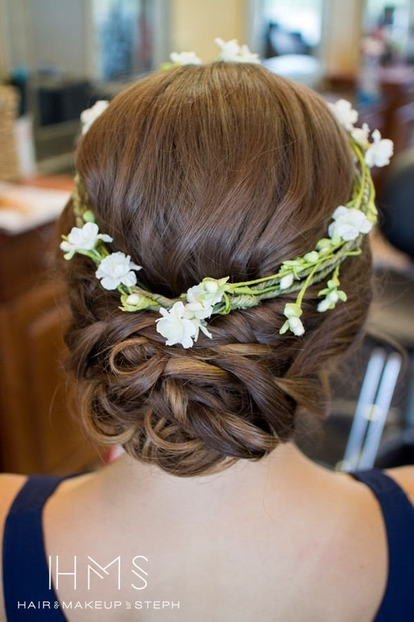 The Best Top 18 Spring Wedding Updo Hairstyles – Unique Bridal Pictures