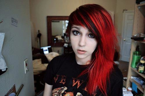 The Best Hair Color Black And Red 17 High Resolution Wallpaper Pictures