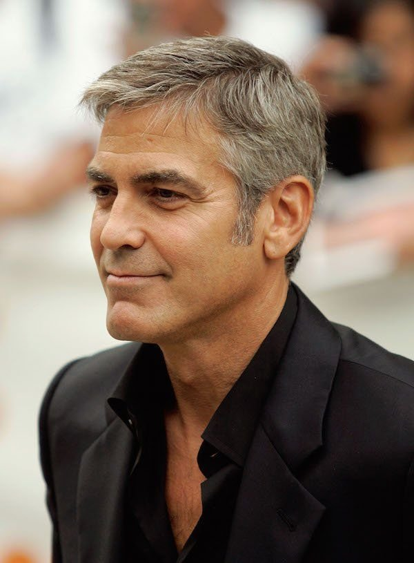 The Best George Clooney S Hairstyle Simple And Classy Pictures