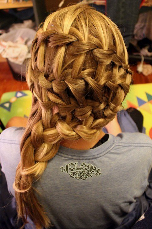 The Best Beautiful Cascade Waterfall Braid Hairstyles Gallery Pictures