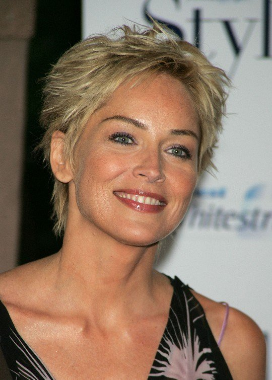 The Best Short Pixie Cut For Women Over 50 Sharon Stone Hair Pictures