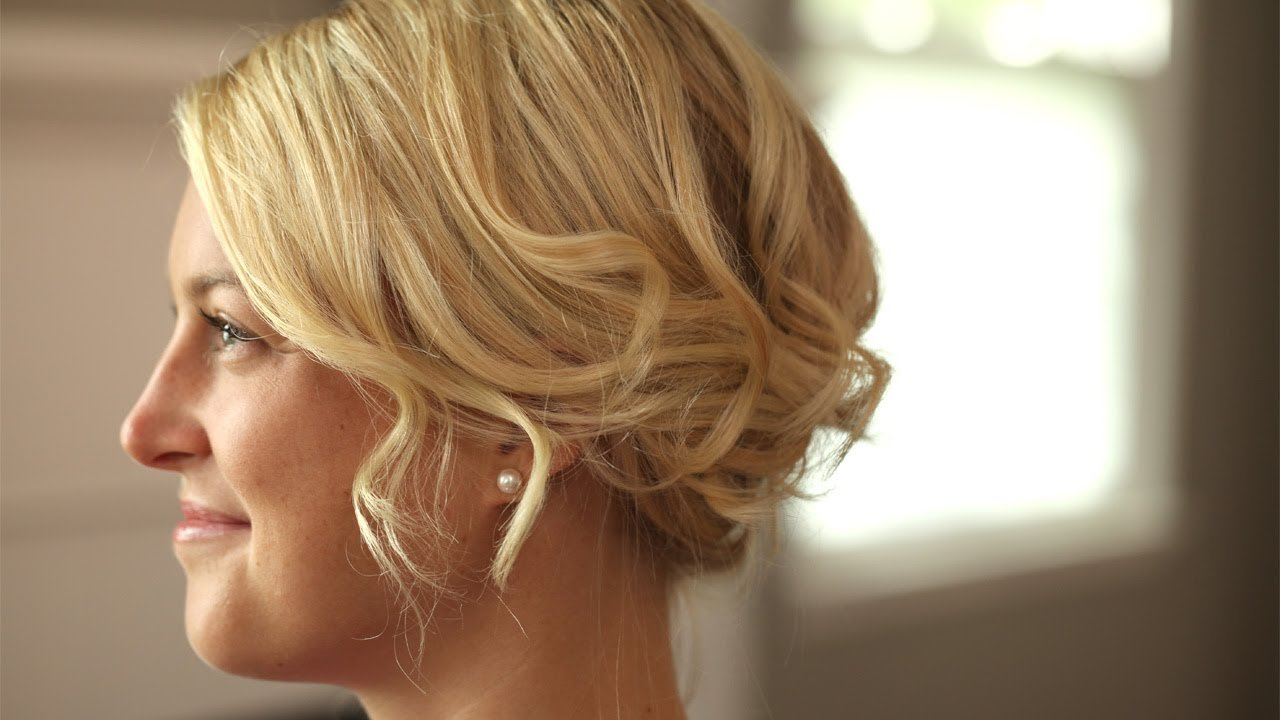 The Best How To Create A Romantic Up Do For Short Hair Kin Pictures