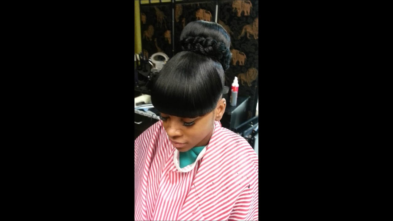 The Best Bun Bang Bang Quick Weave Youtube Pictures
