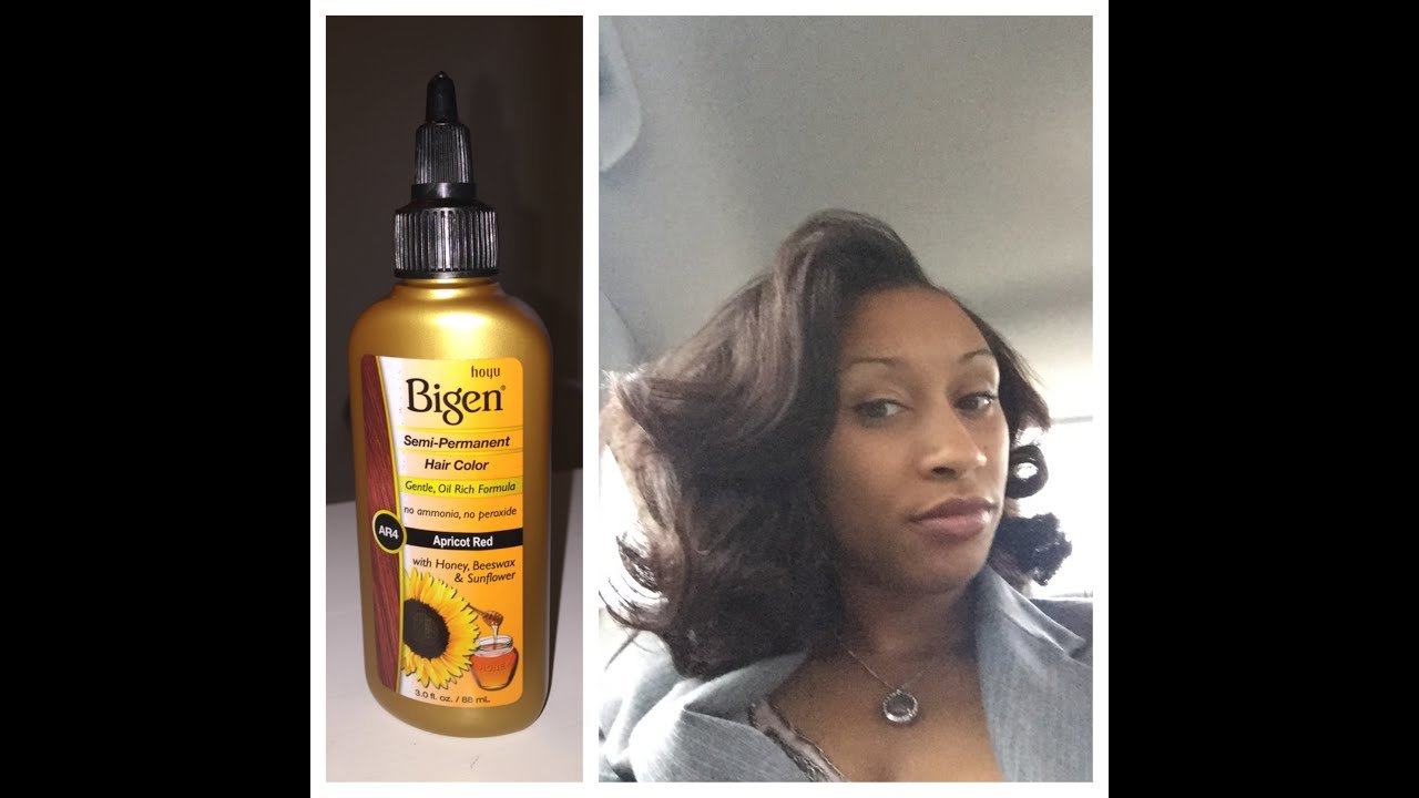 The Best Lashawn Reviews Bigen Semi Permanent Hair Color In Apricot Pictures