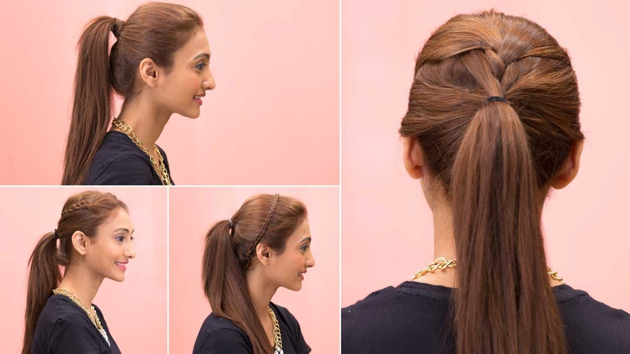 The Best 4 Easy Ponytail Hairstyles Quick Easy Youtube Pictures