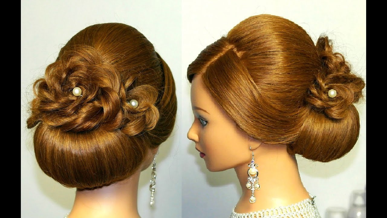 The Best Wedding Prom Hairstyle For Long Hair Updo Tutorial With Pictures