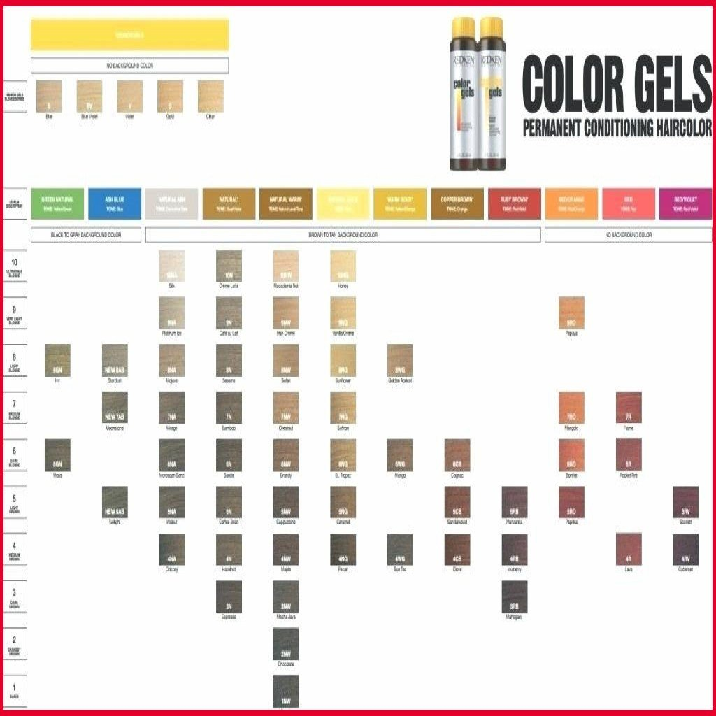 The Best Redken Color Gels Chart World Of Reference Pictures