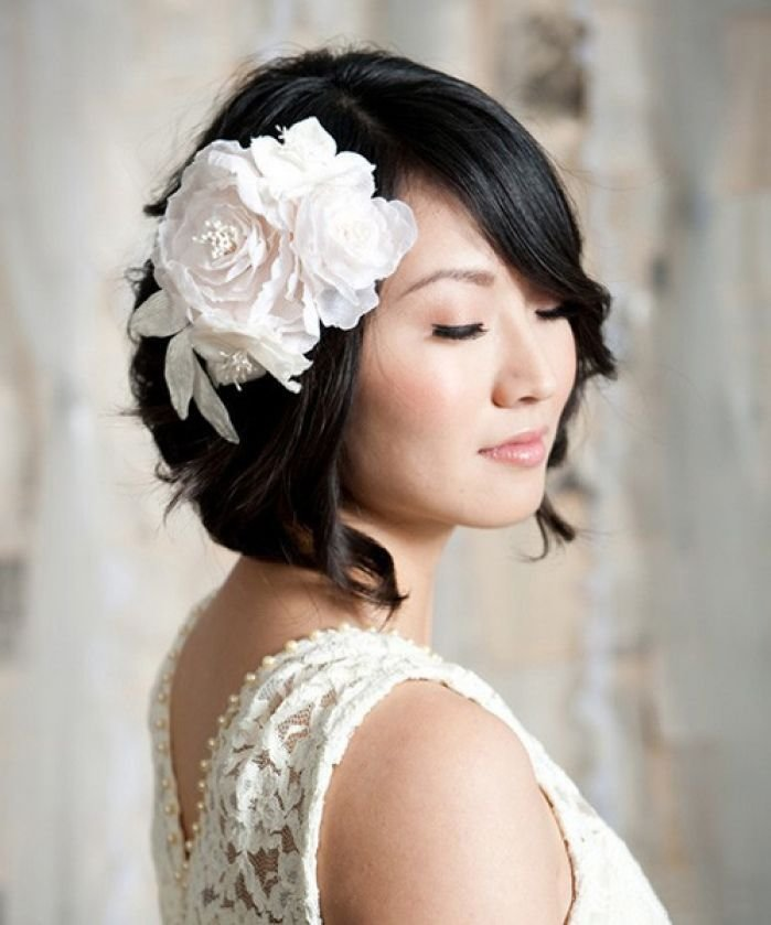 The Best Wedding Hairstyles For Short Hair Pictures