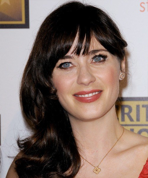 The Best Best Zooey Deschanel Hairstyles Gallery Pictures