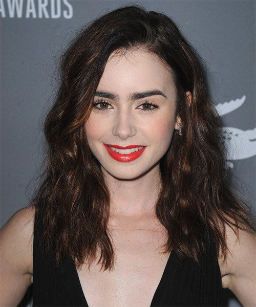 The Best Lily Collins Hairstyles In 2018 Pictures