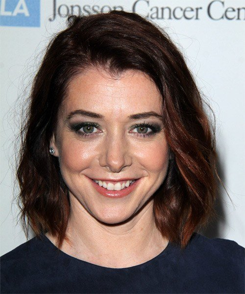 The Best Alyson Hannigan Hairstyles In 2018 Pictures