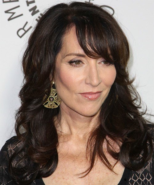 The Best Katey Sagal Long Wavy Formal Hairstyle Pictures