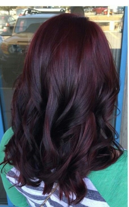 The Best 36 Intensely Cool Red Mahogany Hair Color Ideas Pictures