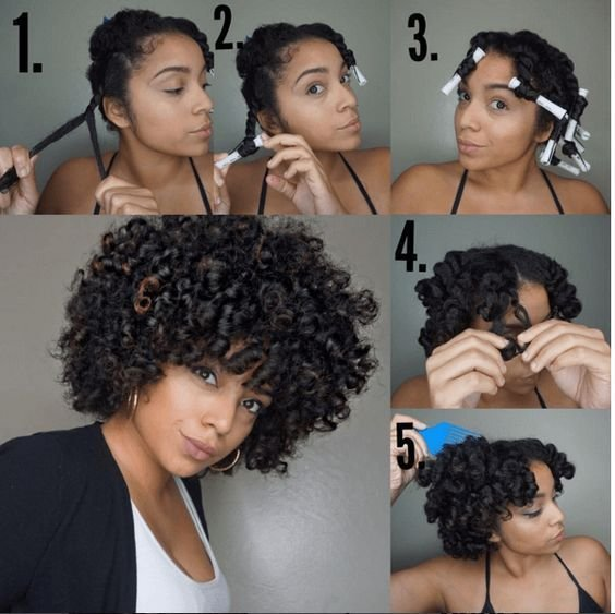 The Best How To Curl Your Hair Without Heat No Heat Curls Tutorials Pictures