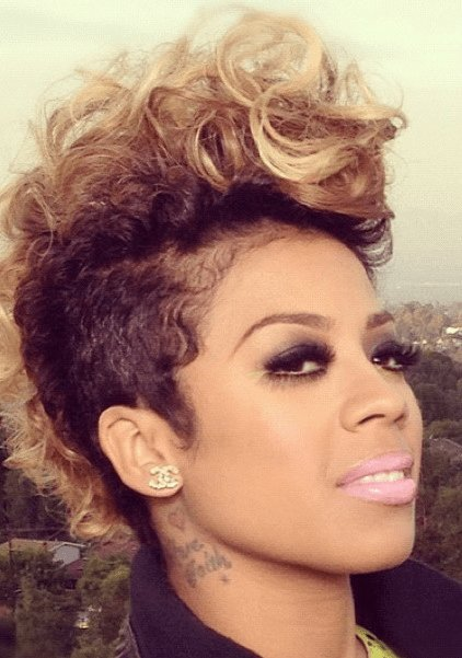 The Best Keyshia Cole 'Faux' Mohawk Feat Vv Love Yourself Love Pictures
