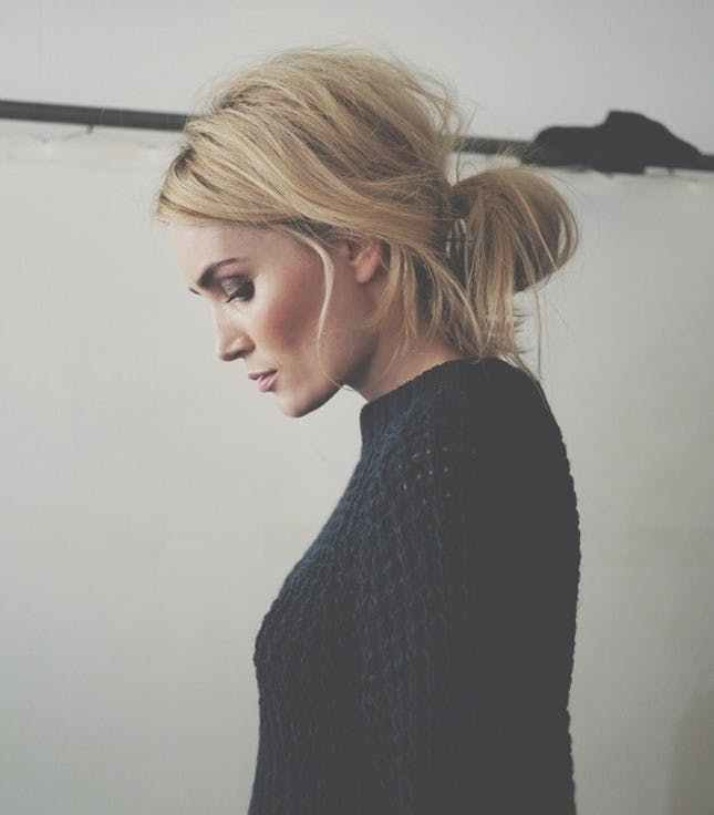 The Best 11 Easy Hairstyles For Snowy Days Brit Co Pictures