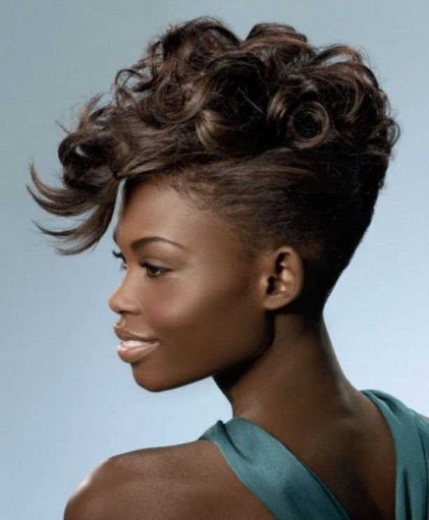 The Best Mohawk Updo Pictures